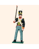 B3A 3 Toy Soldier Gunner with portfire The Royal Artillery Kit