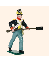 B3A 4 Toy Soldier Gunner with sponge staff The Royal Artillery Kit