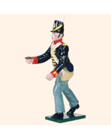 B3A 5 Toy Soldier Gunner with thumb stall The Royal Artillery Kit
