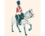 ToL 049 - M102 Toy Soldier Trooper, Royal Scots Greys The 2nd Dragoons 1900 Kit