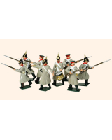 102 Toy Soldiers Set Russian Infantry Painted