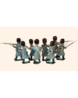 105 Toy Soldiers Set Coldstream Guards Painted