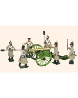 117 Toy Soldiers Set Russian Artillery Painted