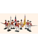 202 Toy Soldiers Set British 10th Regiment Infantry Painted