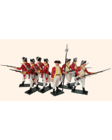 204 Toy Soldiers Set British 10th Regiment Infantry Painted