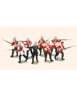 401 Toy Soldiers Set 24th Regiment of Foot Painted