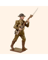 541 Toy Soldier Set British Infantry Private Painted