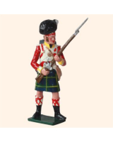 550 Toy Soldier Set Private 92nd Gordon Highlanders Painted
