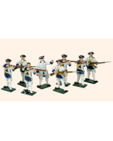 607 Toy Soldiers Set French Infantry Painted