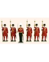 061 Toy Soldiers Set Beefeaters Painted