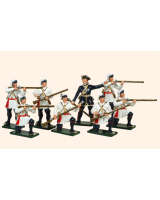 620 Toy Soldiers Set Compagnies Franches de la Marines Painted