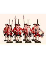 663 Toy Soldiers Set Garde Suisse Painted