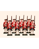 664 Toy Soldiers Set Garde Suisse Painted