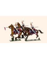 702 Toy Soldiers Set Polish Lancers Painted