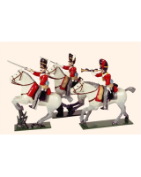 726 Toy Soldiers Set The Royal Scots Greys Painted