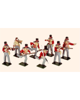 742 Toy Soldiers Set Highland Light Infantry Painted