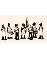 747 Toy Soldiers Set French Imperial Guard Grenadiers Painted