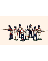 748 Toy Soldiers Set French Imperial Guard Grenadiers Painted