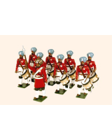 076 Toy Soldiers Set The Drums 45th Rattrays Sikhs Painted