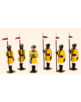 007a Toy Soldiers Set 1st Bengal Lancers 1901 Painted