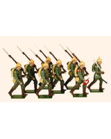809 Toy Soldiers Set German Infantry 1914 Painted