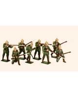 811 Toy Soldiers Set German Infantry 1914 Painted