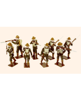 816 Toy Soldiers Set United States Marine Corps 1917 Painted