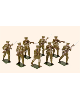 817 Toy Soldiers Set British Infantry 1914 Painted
