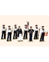 908 Toy Soldiers Set The Union Navies in attention Painted