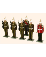 GR1 Toy Soldiers Set The Gibraltar Regiment Painted