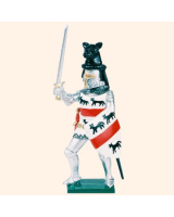 K21 Toy Soldier Set Sir Hugh Calveley Painted