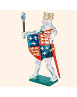 K23 Toy Soldier Set King Henry V Painted