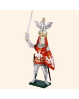 K29 Toy Soldier Set The King of Poland Painted