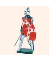 K05 Toy Soldier Set Sir Robert Knolles KG Painted