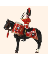 ToL 046 - M103 Toy Soldier Set Kettledrummer, Royal Scots Greys Painted