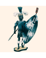 ZU4D Zulu Warrior Unmarried Regiment Kit
