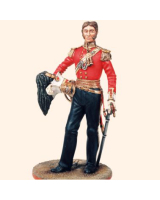 AS90 37 Officer 17th Lancers c.1832 Painted