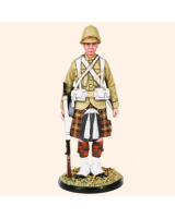 AS90 46 Private 1st Battalion Cameron Highlanders Sudan 1898 Kit
