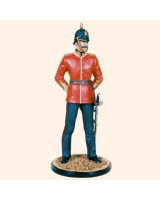 RC90 022 Officer Line Infantry 1900 Painted