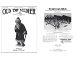 Old Toy Soldier Magazine 1996 Volume 20 Number 5 Johillco's Father Christmas