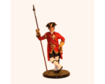 Sqn80 008 Officer 23rd Foot Royal Welsh Fusiliers circa 1740 Kit