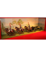 0812 CBG Mignot - Gribeauval Cannon - Complete set in original box.