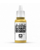 AV Vallejo Model Color VAL996 - Metallic Gold  - Paint