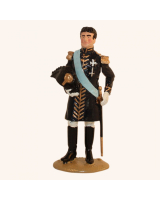 1011 Toy Soldier Set King Charles XIV Johan 1763-1844 as Swedish Field Marshal Painted
