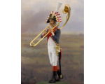 NF1085-01 Trombonist Year 1810 Painted