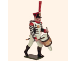 723 2 Toy Soldier Grenadier Drummer advancing Kit