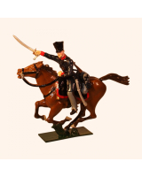781-2 Toy Soldier Trooper Landwehr Prussian Dragoons Napoleonic War Kit