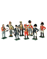 752 Toy Soldiers Set Wellington At Waterloo Painted
