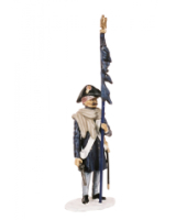 AC11D Standard Bearer Line Infantry Painted
