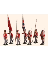 764 Toy Soldiers Set British Foot Guards Painted